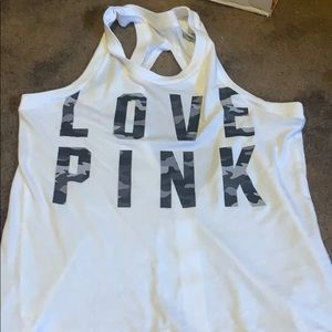 I am selling my pink tank top